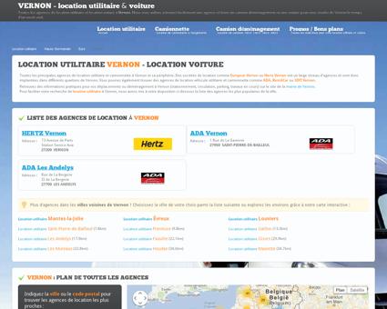Location utilitaire VERNON - camion...