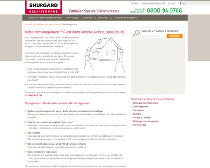 Self stockage pour déménagement | Shurgard...