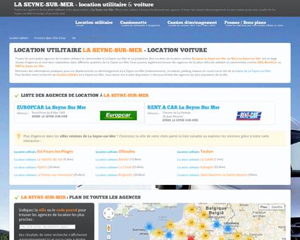 Location utilitaire LA SEYNE SUR MER - camion...
