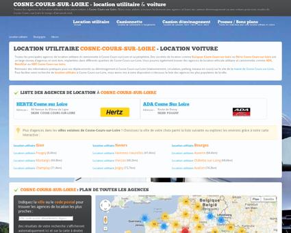 Location utilitaire COSNE COURS SUR LOIRE -...