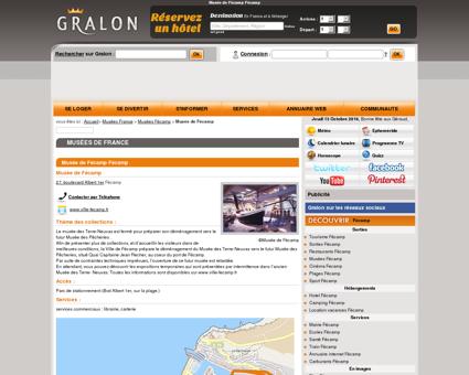 Musée de Fécamp Fécamp - Gralon : Guide...