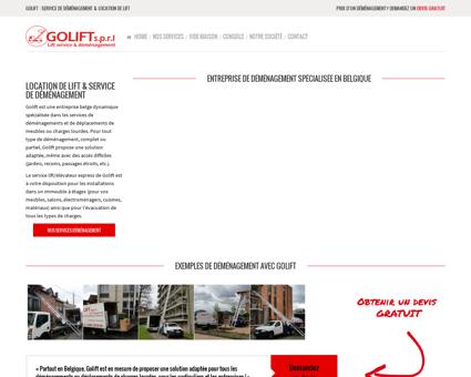 Go lift - location lift et service déménagement