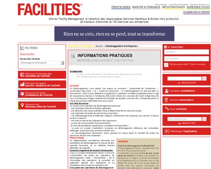 Informations pratiques déménagement -...