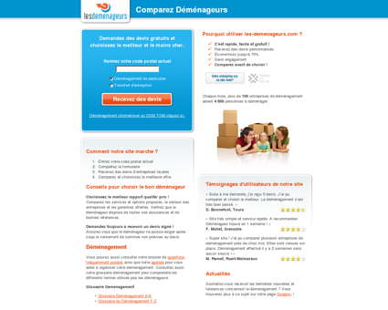 Comparateur de services de d m nagement de gravelines - Comparateur location camion demenagement ...