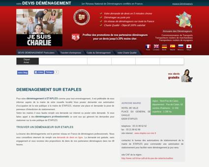 demenagement sur ETAPLES - Votre...