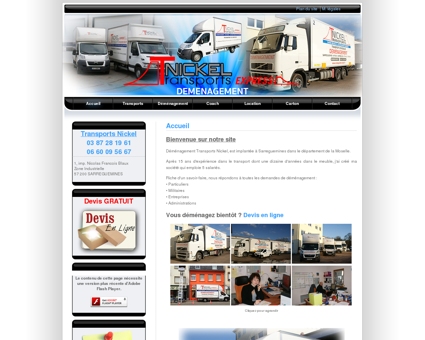 Déménagement - Transports Nickel...