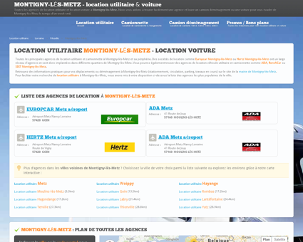 Location utilitaire MONTIGNY LES METZ -...