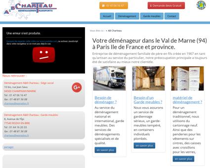 Déménagement Val-de-Marne et Île-de-France...