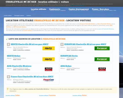 Location utilitaire CHARLEVILLE MÉZIÈRES -...