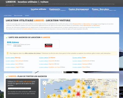 Location utilitaire LISIEUX - camion...