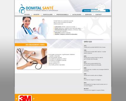 Masson Domital - vente de matériel médical...