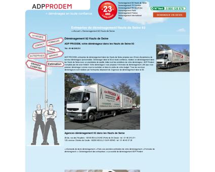 Nos formules de déménagement - ADP...