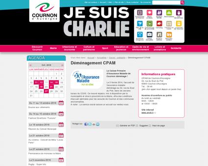 Déménagement CPAM - Cournon-d'Auvergne