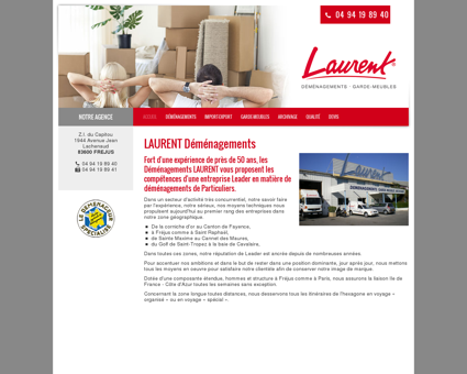 Déménagements LAURENT - demenagement...