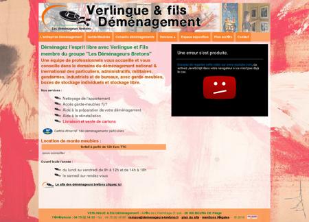 Demenagement Verlingue et fils à Bourg de...