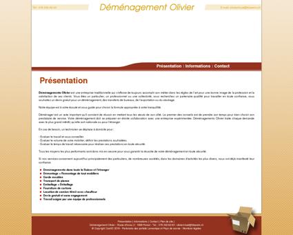 Déménagement - Fribourg - Garde meubles -...
