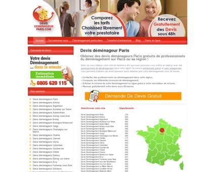 Devis déménagement sur la région de Paris