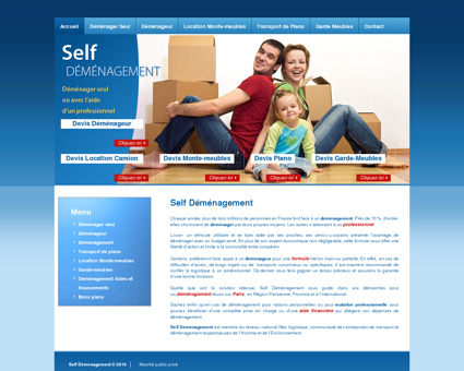 Self Demenagement : Déménager seul,...