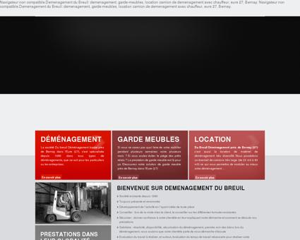 Déménagement Bernay, Du Breuil...