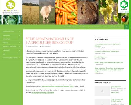 GABB32 | Le groupement des agriculteurs bio