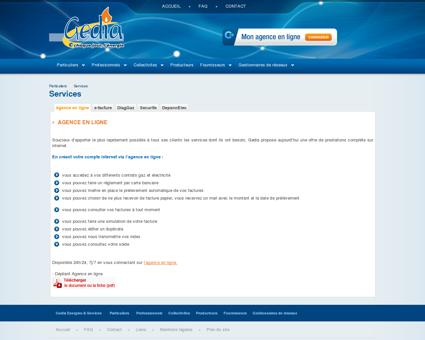 agence en ligne dépannage électricité gaz