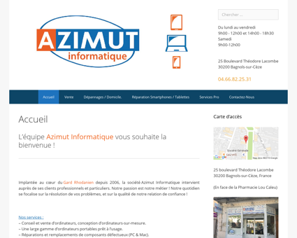 Azimut Informatique | Bagnols-sur-Cèze |...