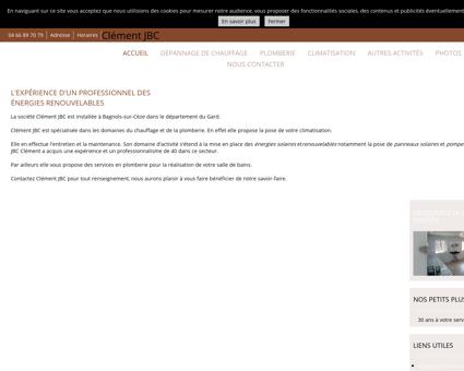 Dépannage de chauffage - Clément JBC à...