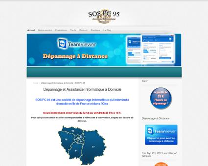 Dépannage Informatique à Domicile - SOS PC 95