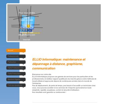 ELLIO Informatique - Assistance en ligne et...