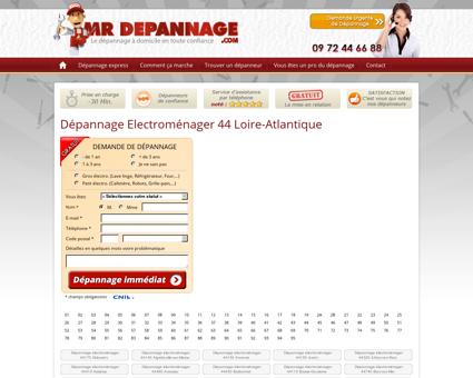 Dépannage Electroménager 44 Loire...
