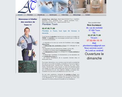 Plombier Tours - Depannage plomberie -...