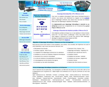 Dépannage Réparation Informatique et GSM à...