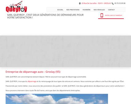 Remorquage, dépannage  Groslay | Queyroy