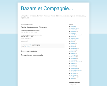 Bazars et Compagnie...: Centre de dépannage...