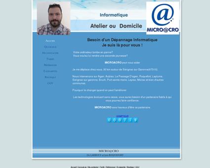 MICROACRO Dépannage Informatique à...
