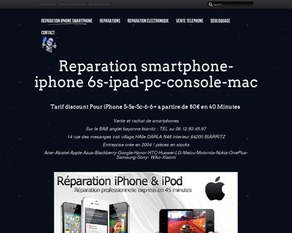 Reparation iphone smartphone