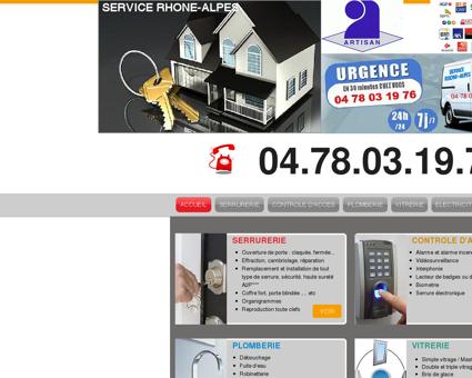 SERVICE RHONE-ALPES