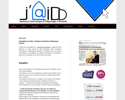 J'AIDD - Assistance Informatique & Dépannage...