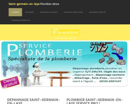 Plombier 78100 Saint-germain-en-laye -...