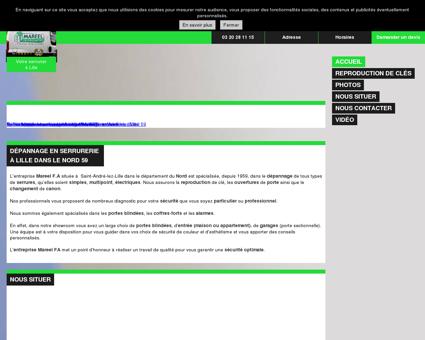Serrurier à Saint-André-lez-Lille - Nord 59