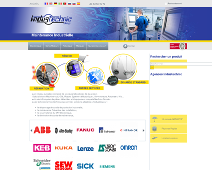Industechnic Group | Maintenance Industrielle