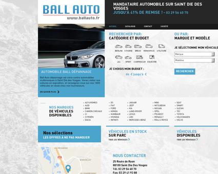 Mandataire Automobile sur Saint Die Des...