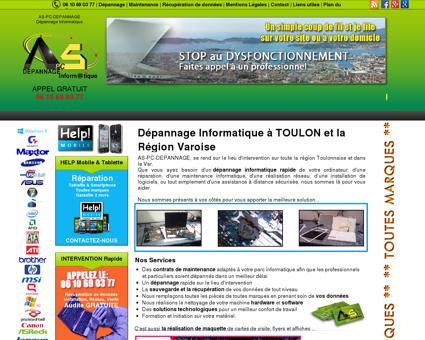 Dépannage Informatique Toulon et la Région...