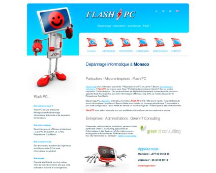 Flash PC   depannage informatique a Monaco,...