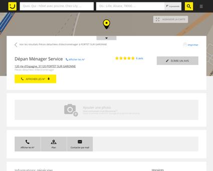 Dépan Ménager Service Portet sur Garonne...