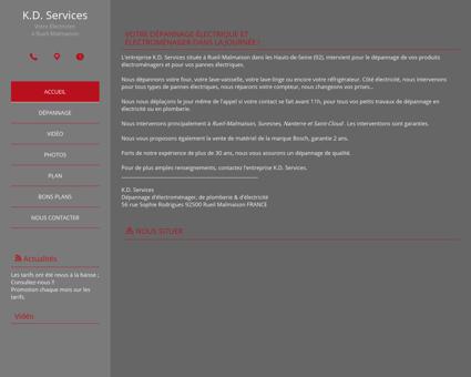 Société K.D Services à Rueil-Malmaison (92) -...