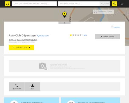 Auto Club Dépannage Tinqueux (adresse) -...