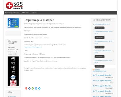 Dépannage à distance | sosmonordi.com les...