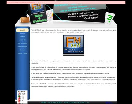 FMSoft - Maintenance assistance dépannage...