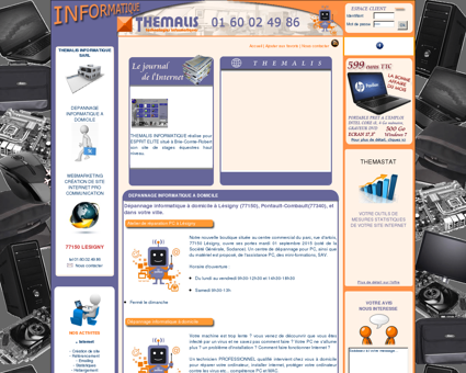 THEMALIS INFORMATIQUE : depannage...